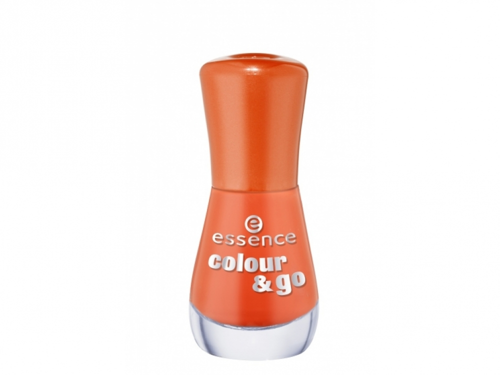 Лак для ногтей Colour and Go, 145 Flashy Pumpkin, essence