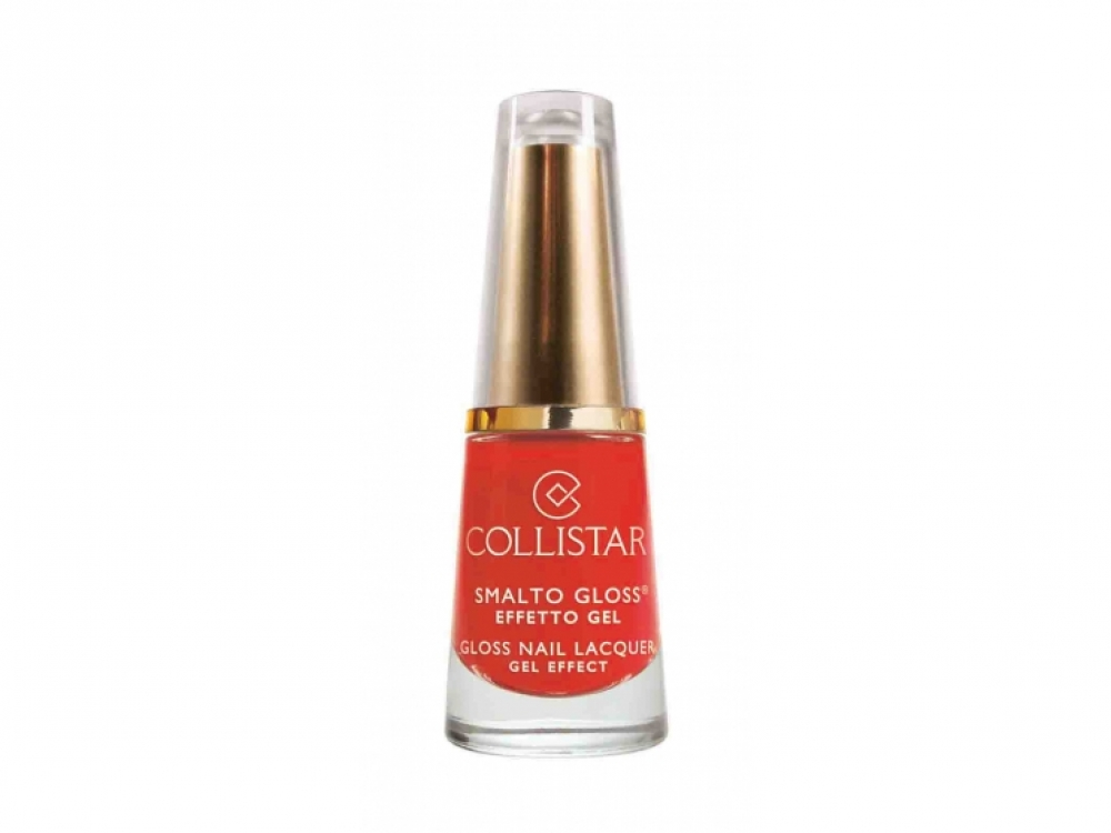 Лак для ногтей Gloss Nail Lacquer, Energy Orange № 543, Collistar