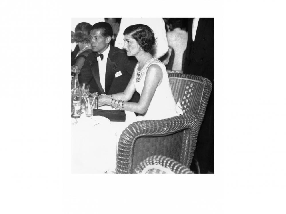 Коко Шанель и Серж Лифарь, 1933
