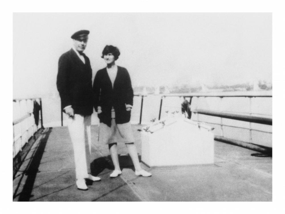 Габриэль Шанель и герцог Вестминстерский путешествуют по Шотландии, 1928