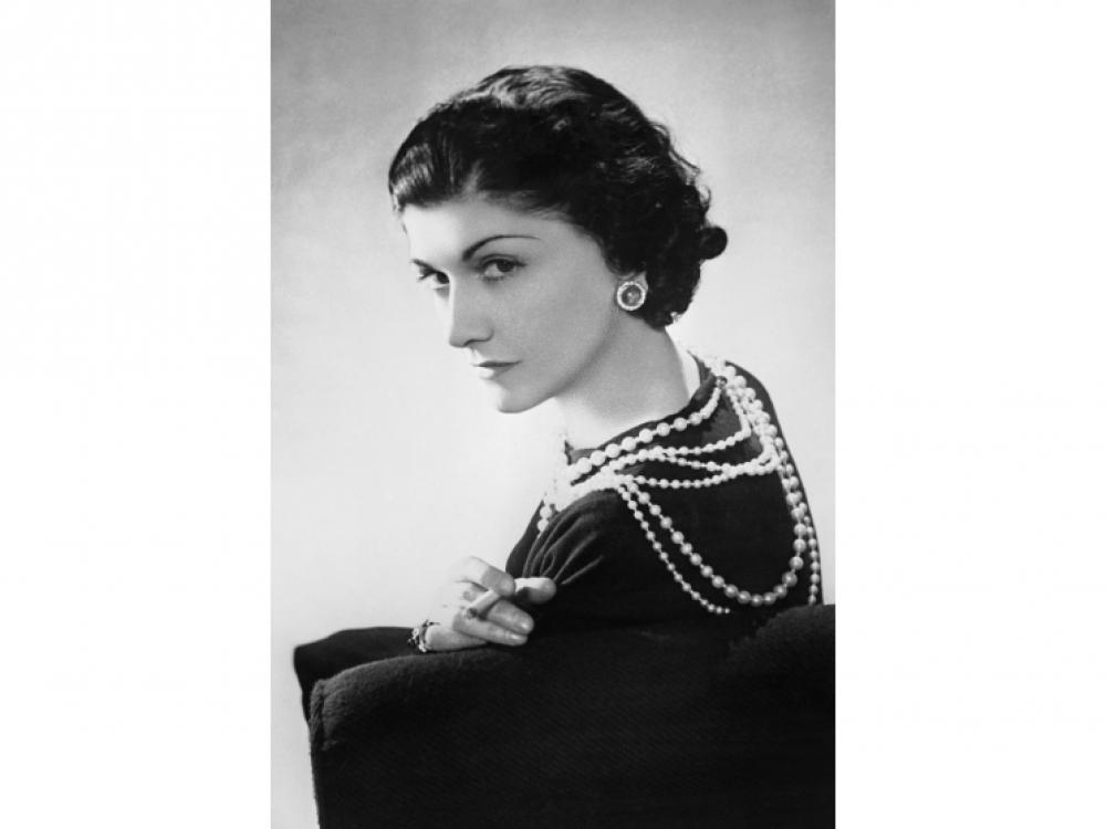 Портрет Шанель, созданный французским фотографом российского происхождения Борисом Липницким, 1936