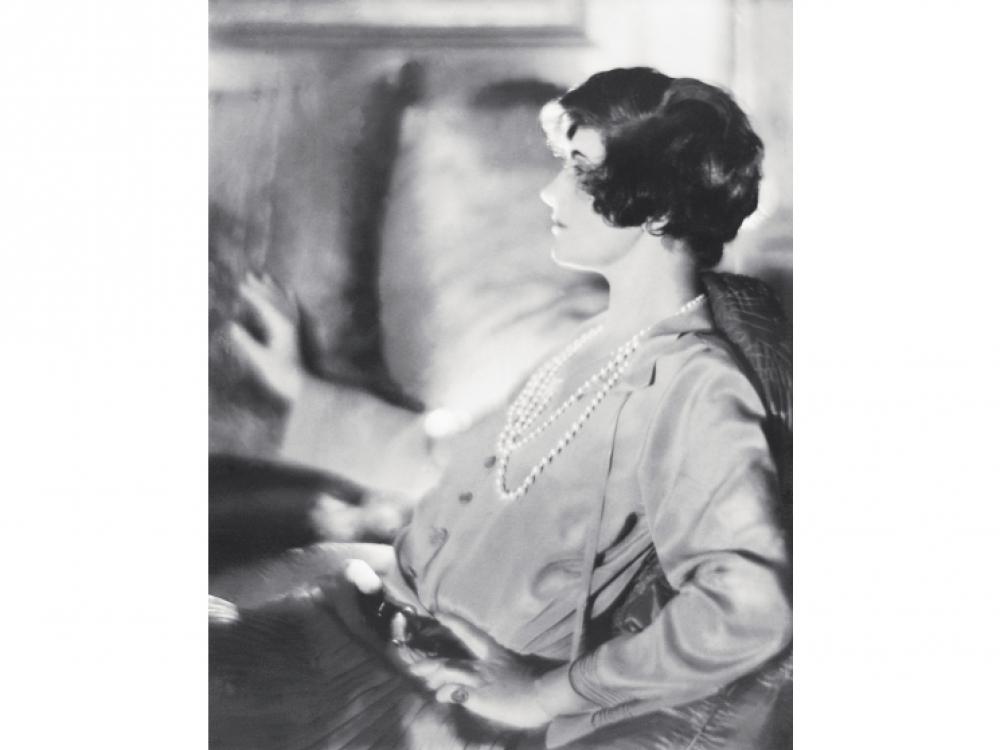 Мадемуазель Шанель с короткой стрижкой, 1920