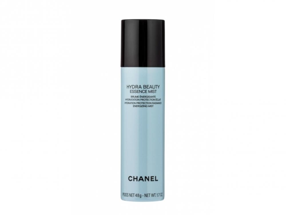 Дымка Hydra Beauty Essence Mist, Chanel, 750 грн. Спрей с ароматом камелии содержит антиоксиданты: голубой имбирь, производные витаминов C и E, гиалуроновую кислоту