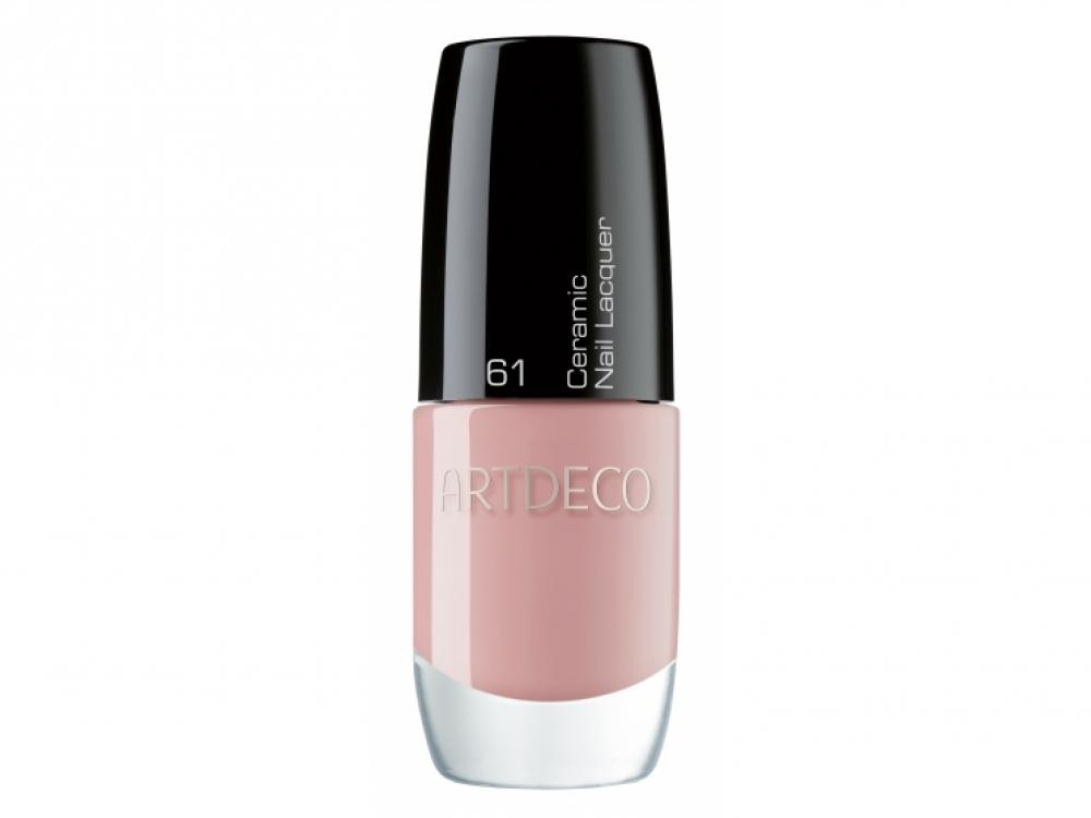 Лак для ногтей Ceramic Nail Lacquer, № 61 Dusky Nude, Artdeco