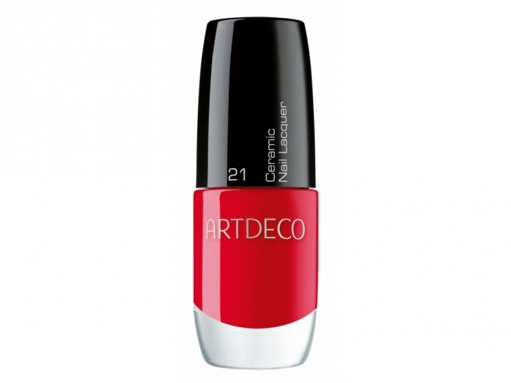 Лак для ногтей Ceramic Nail Lacquer, № 21 Red Label, Artdeco