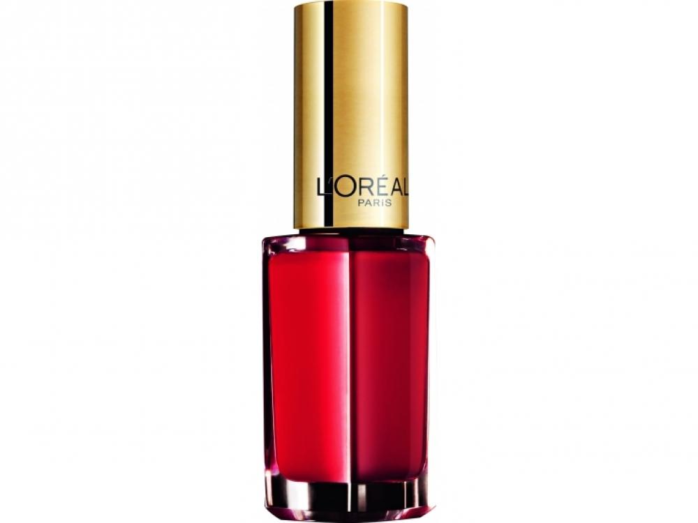 Лак для ногтей Color Riche Nail, № 408 Exquisite Scarlet, L'Or?al Paris