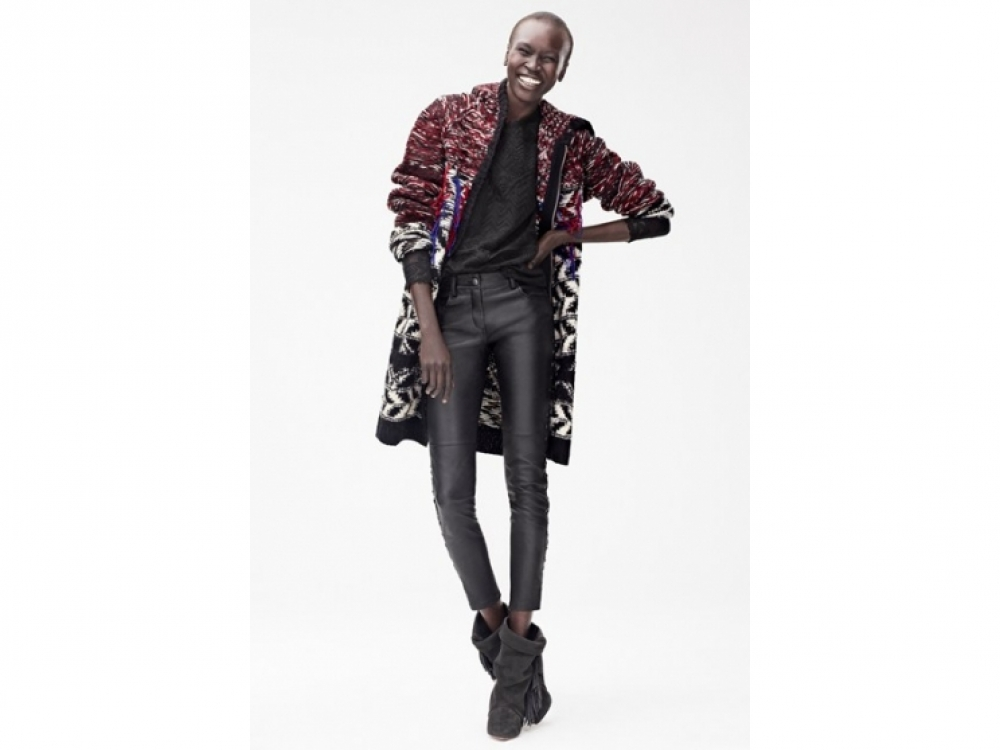 | съемки Isabel Marant for H&M