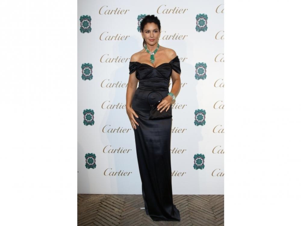 На вечеринке Sortilege de Cartier в Риме, 2011 год