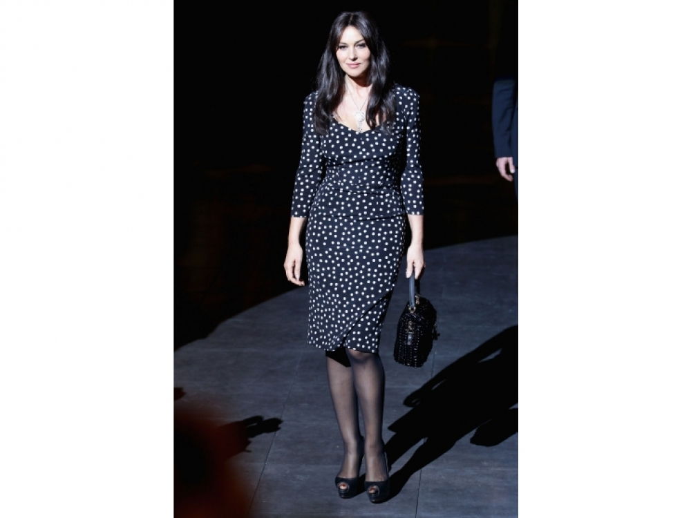 На показе Dolce & Gabbana Autumn/Winter 2012/2013