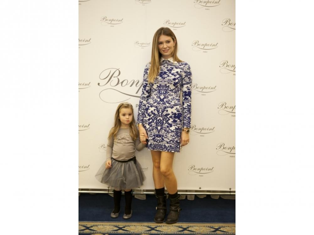 Мирела Форич с дочерью