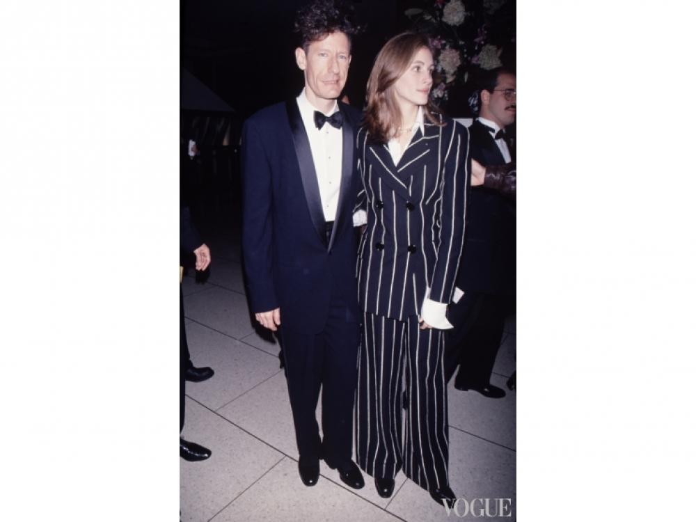 С бойфрендом Лайлом Ловеттом, 1990-е годы