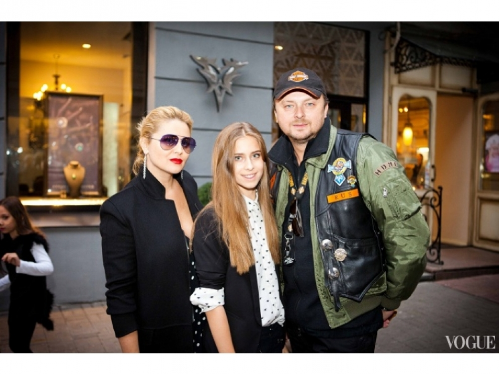 Светлана, София и Руслан Евдокименко
