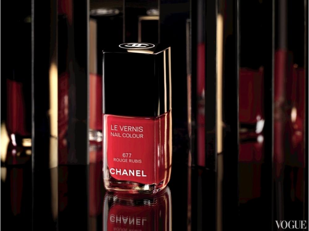 Лак для ногтей Le Vernis Rouge Rubis, оттенок Rouge Rubis
