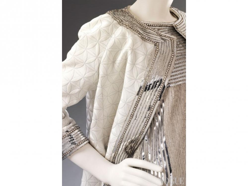 Вечернее пальто и платье Mila Sch?n's, 1966