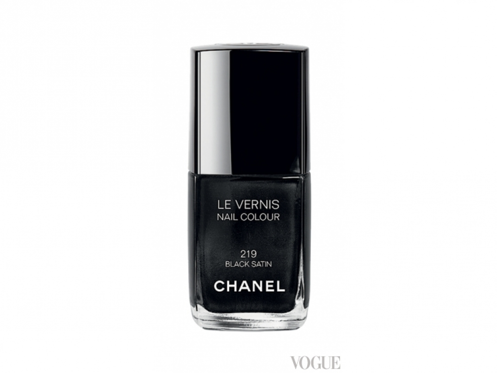 Лак Le Vernis, № 219 Black Satin, Chanel