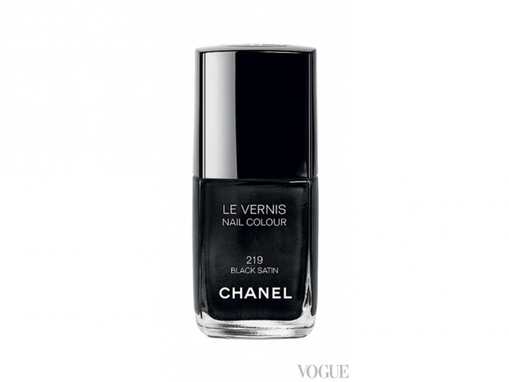 Лак Le Vernis, № 219 Black Satin, Chanel