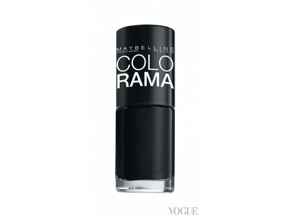 Лак Colorama, № 02 Black, Maybelline New York