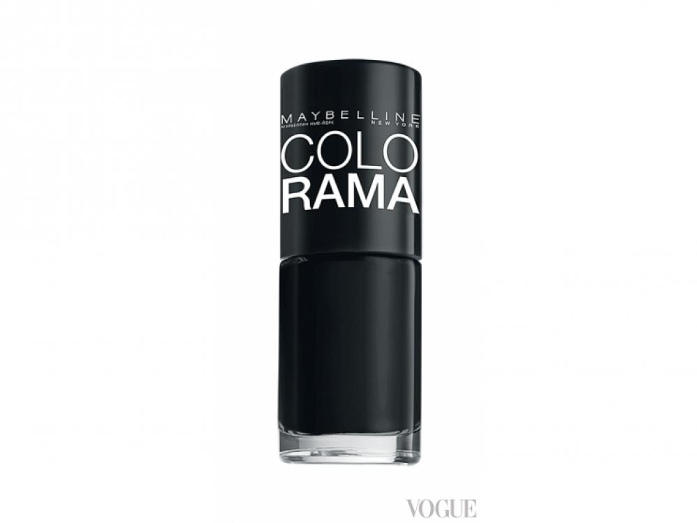 Лак Colorama, № 02 Black, Maybelline New York
