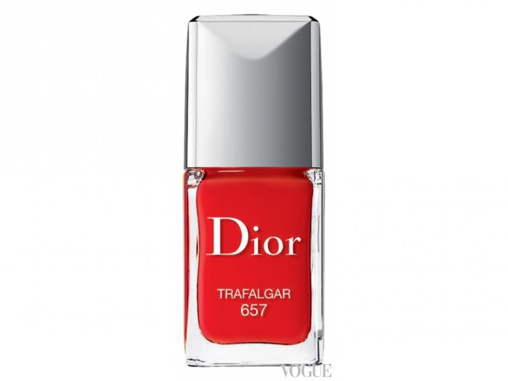 Лак из серии Rouge Dior, № 657 Trafalgar, Dior