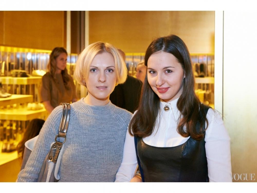 Юлия Костецкая и Виолетта Федорова