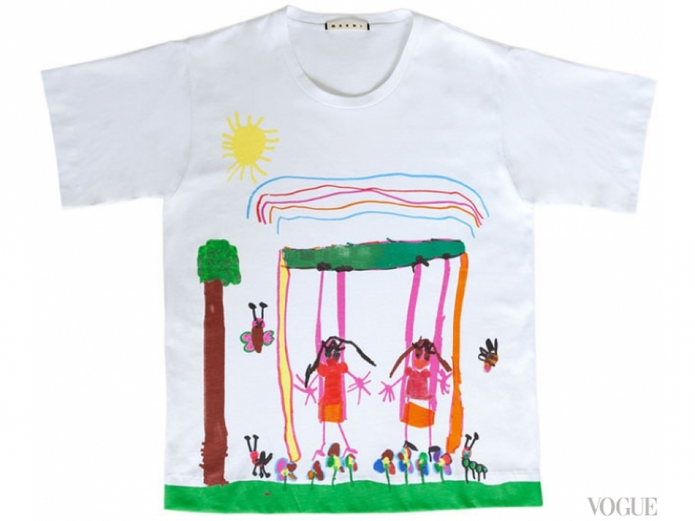 |Футболки Marni Children's imaginary world
