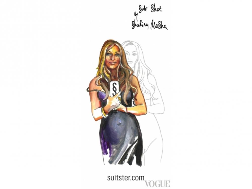 |Совместная коллекция чехлов для IPhone Маши Шубиной и Suitster