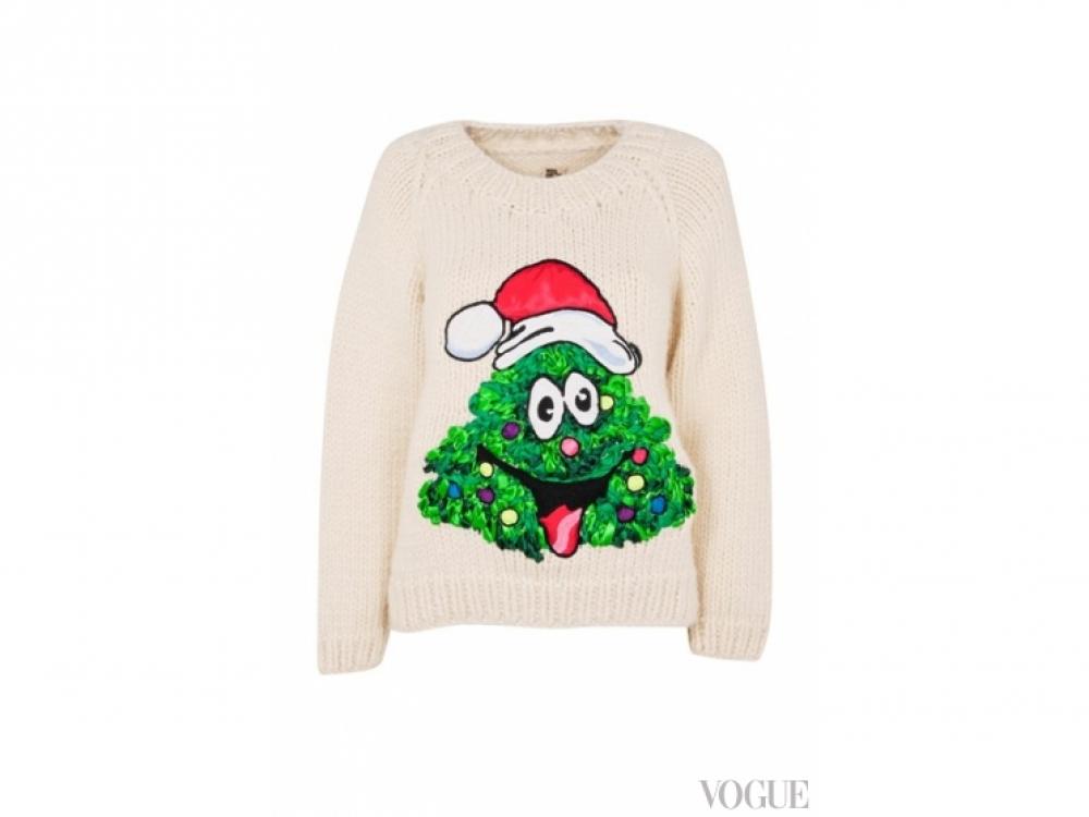 Sibling Рождественский свитер Sibling