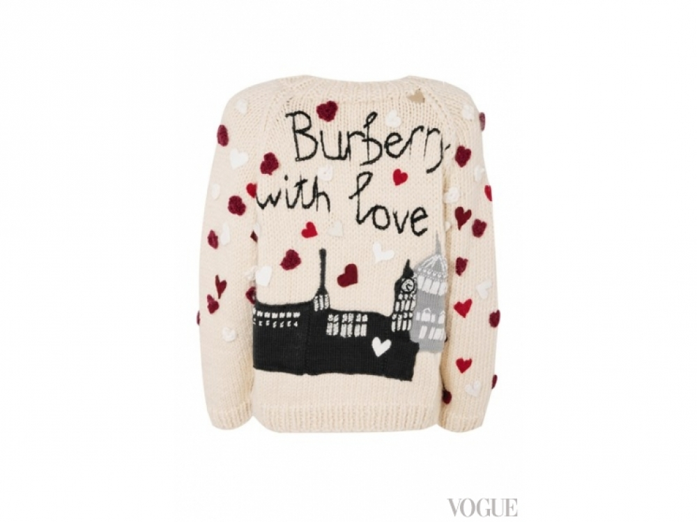 Burberry|Рождественский свитер Burberry