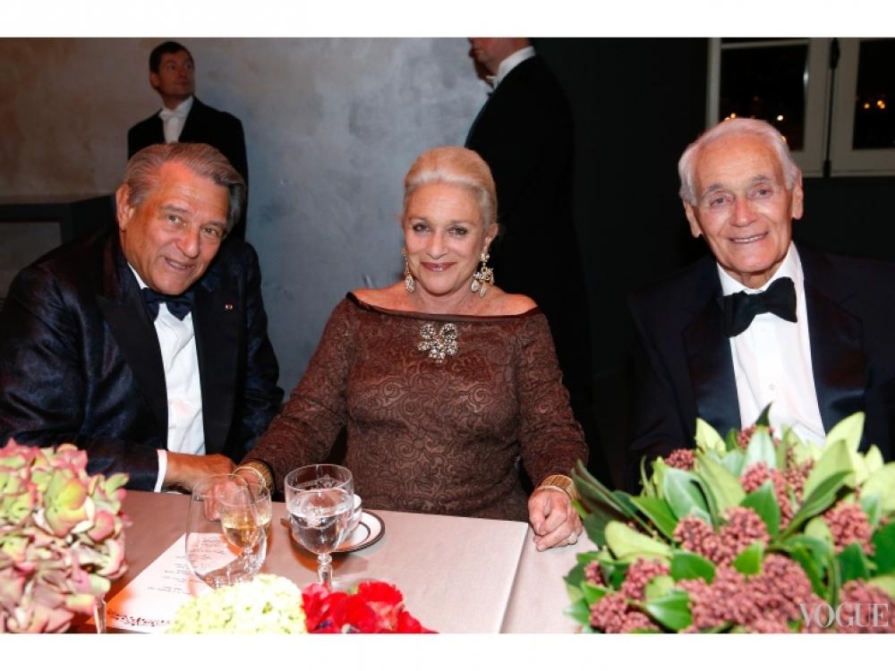 Барон Гай Улленс, баронесса Элен фон Людингхаузен и Филипп Вене
