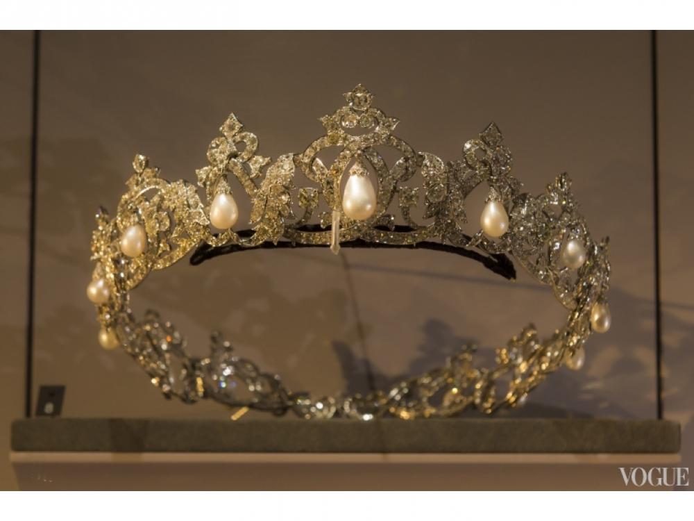 Тиара из коллекции княжеского дворца Монако, созданная в 1949 году