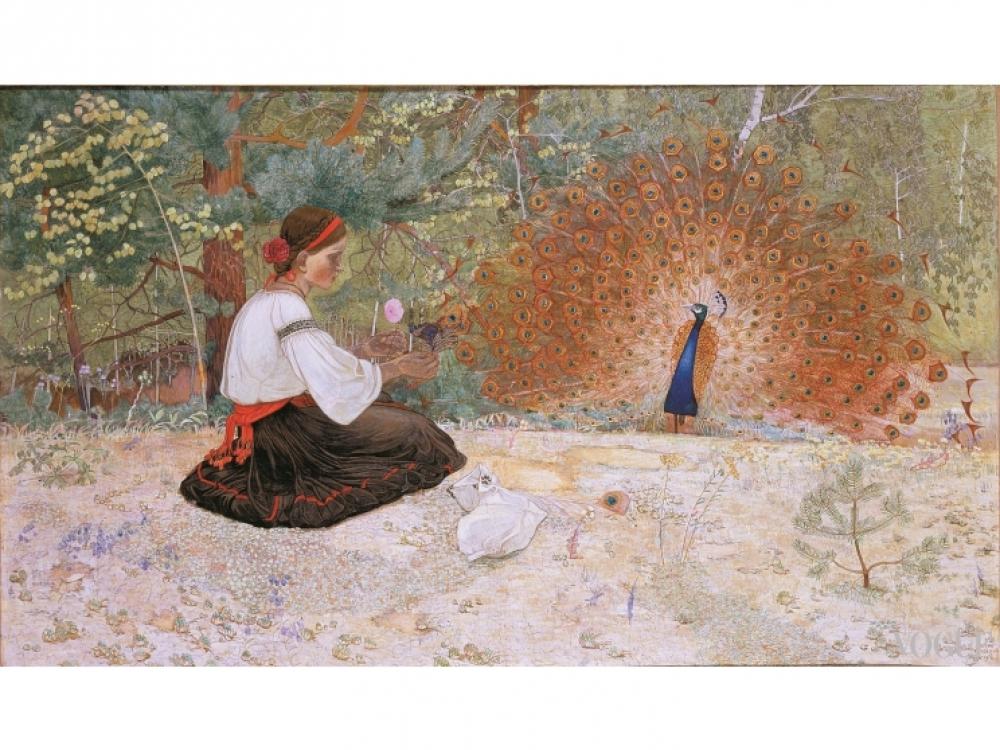 """Петр Холодный """"Сказка о девушке и паве"""""""
