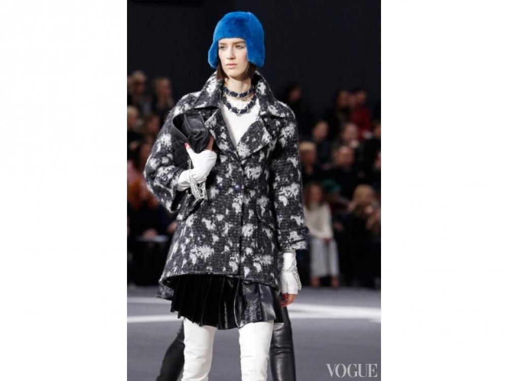 Chanel|Меховые шапки Chanel