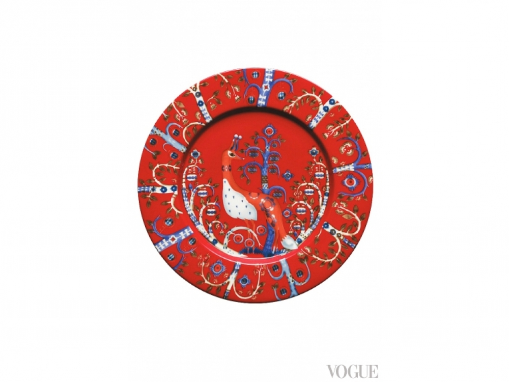 Фарфоровая тарелка Taika, 22 см