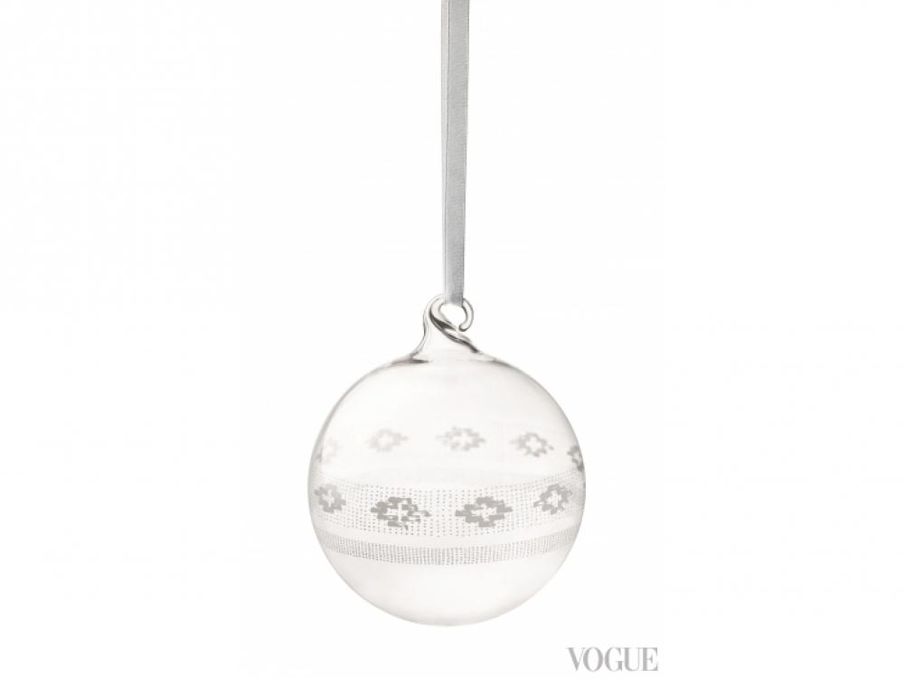 Стеклянный шар, 8 см