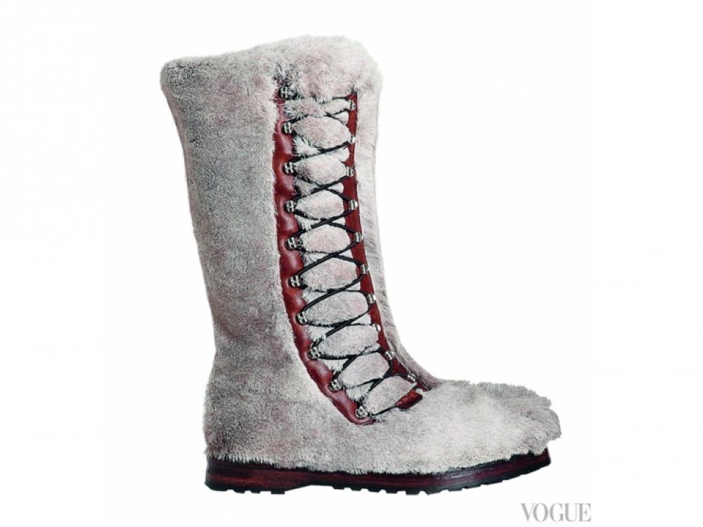 Ботинки Himalaya из оленьей кожи, Bally