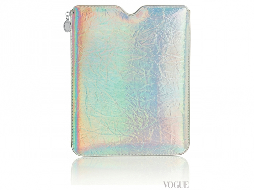 Чехол для iPad из металлизированной кожи, Stella McCartney