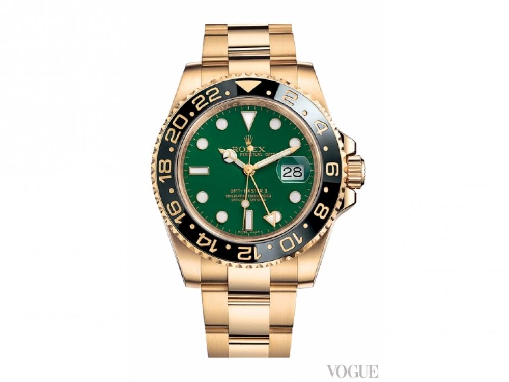 Часы Oyster Perpetual GMT-Master, желтое золото, Roleх