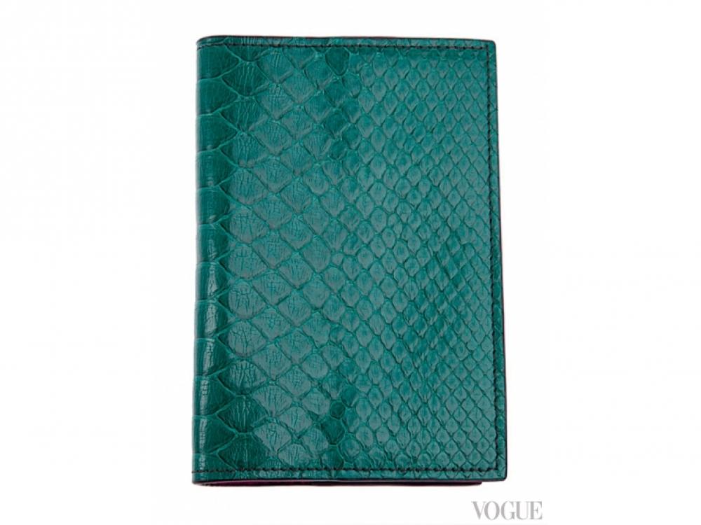 Чехол для паспорта из змеиной кожи, Zagliani