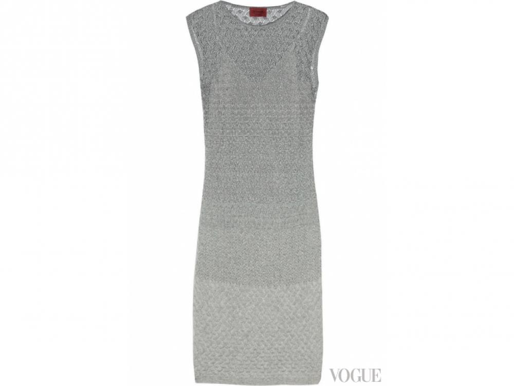 Платье из трикотажа с люрексом, Missoni
