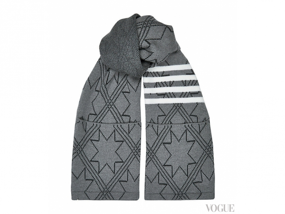 Шерстяной шарф, Thom Browne