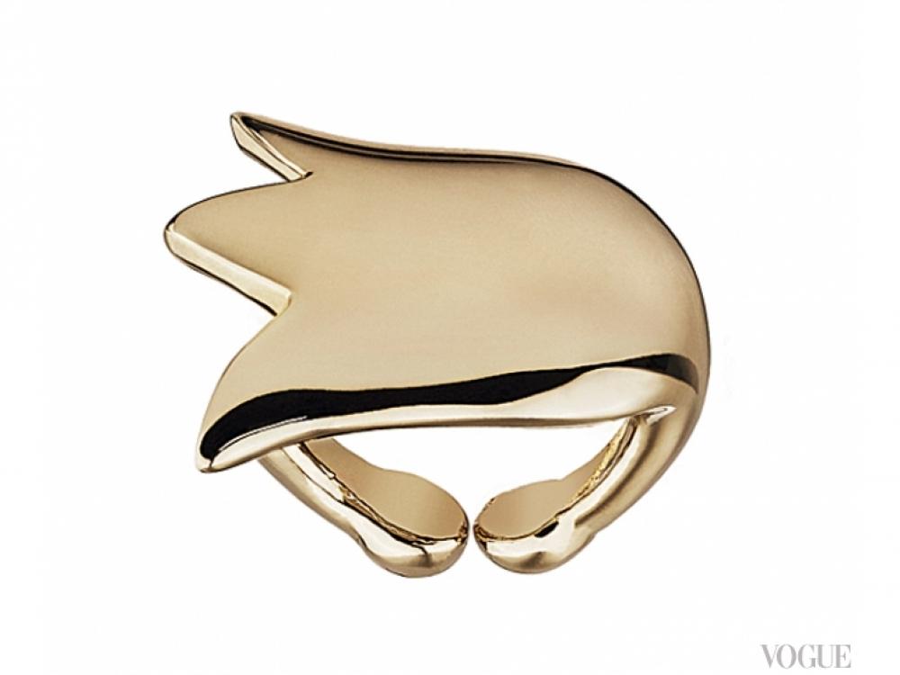 Кольцо Monsieur Dior, позолота, Dior
