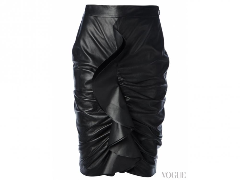 Givenchy|юбка с драпировкой Givenchy
