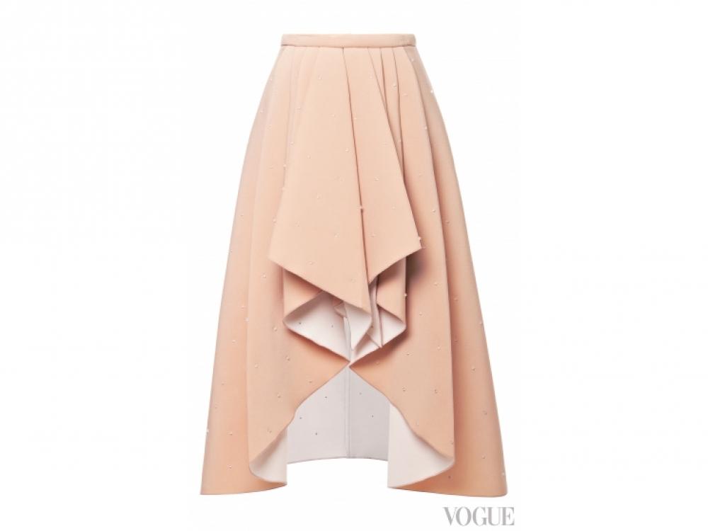 Rodarte|юбка с драпировкой Rodarte