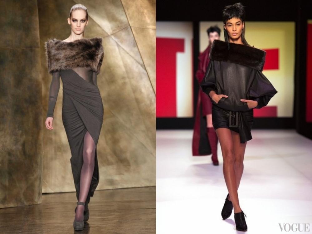 Donna Karan/Jean Paul Gaultier|меховые изделия - Donna Karan/Jean Paul Gaultier