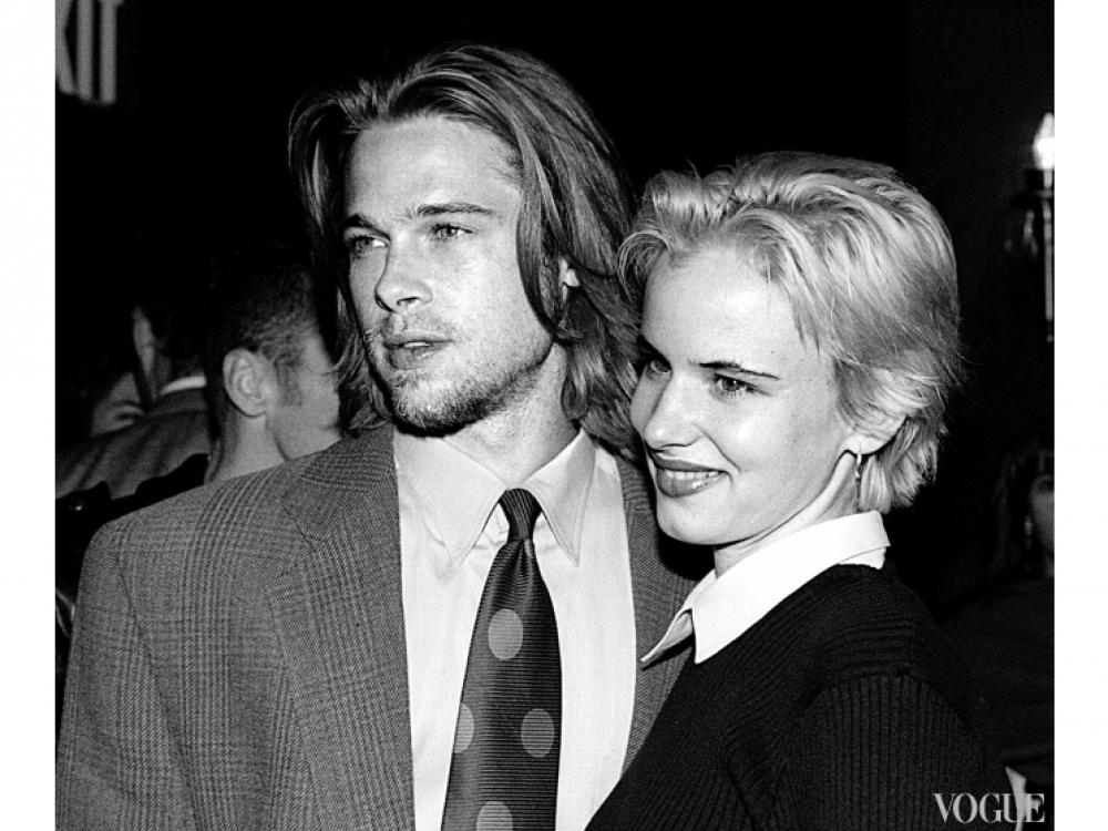 Брэд Питт с Джульеттой Льюис (1992)