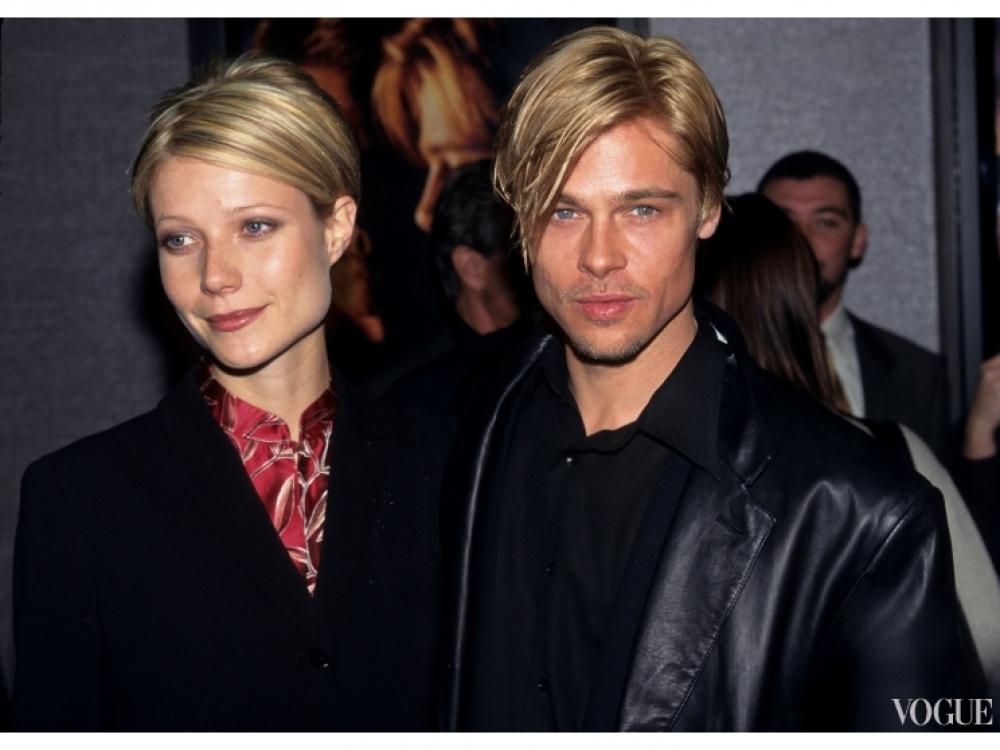 Гвинет Пэлтроу и Брэд Питт (1997)