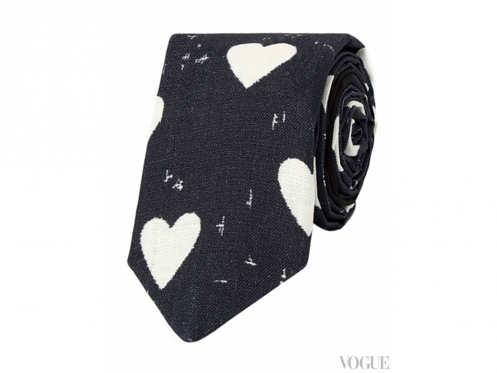 Шелковый галстук, Burberry Prorsum