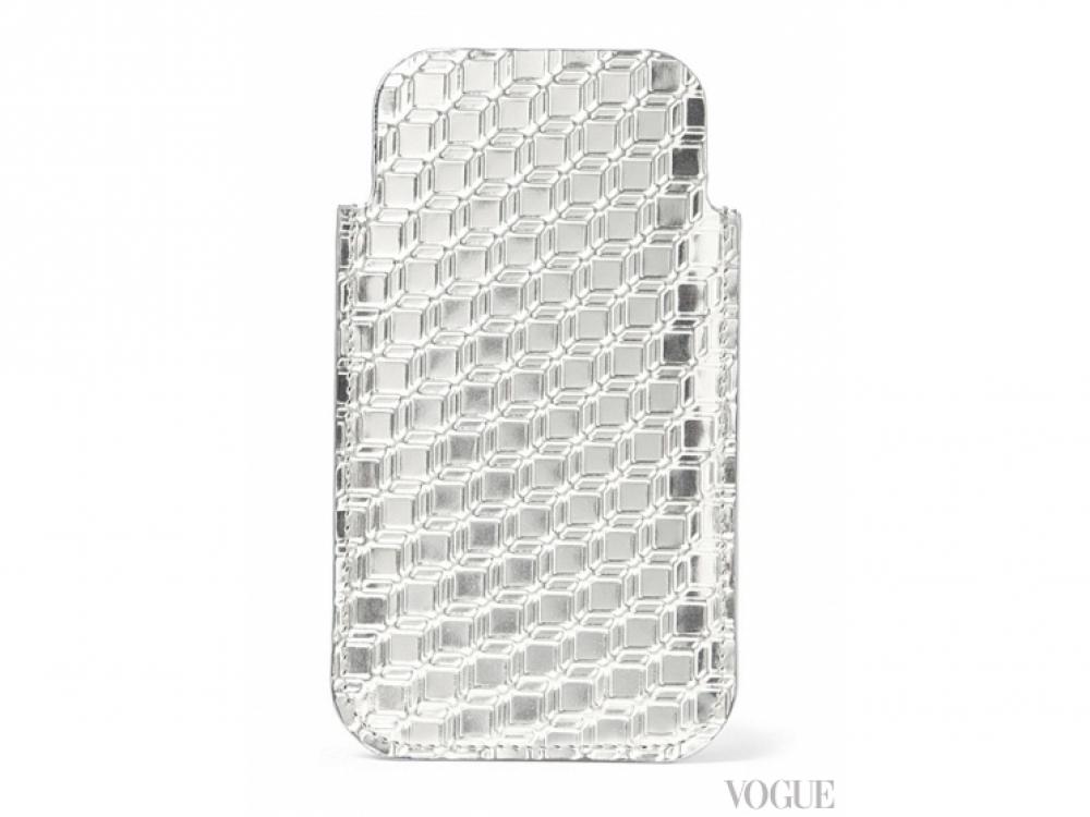 Чехол для iPhone 5 из металлизированной кожи, Pierre Hardy