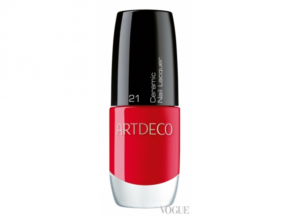 Лак для ногтей Ceramic Nail Lacquer, №?21 Red Label, Artdeco