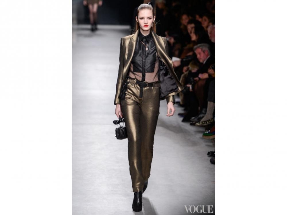Alexis Mabille|Золотой цвет в одежде - Alexis Mabille